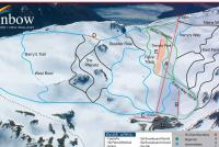Rainbow Ski Area Plan des pistes