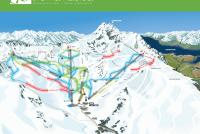 The Remarkables Piste Map