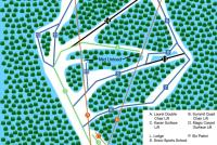 Wolf Ridge Ski Resort Plan des pistes
