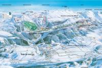Lans en Vercors Trail Map