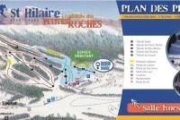 St Hilaire de Touvet Mapa zjazdoviek