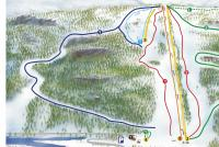 Brokke Piste Map