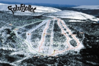 Fulufjellet Trail Map