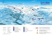 Sauda Trail Map