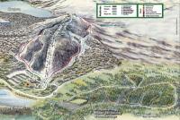 Sjusjøen Mapa de pistas