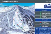 Götschen Skizentrum Mapa tras