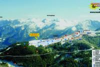 Rossfeld Oberau Mapa de pistas