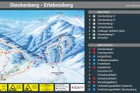 Steckenberg - Unterammergau Plan des pistes