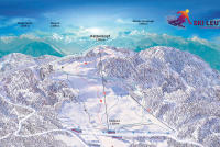 Ski Leutasch – Bergbahn Kreithlift Mappa piste