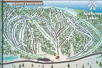 Anthony Lakes Mountain Resort Mappa piste