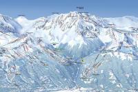Montchavin - La Plagne Plan des pistes