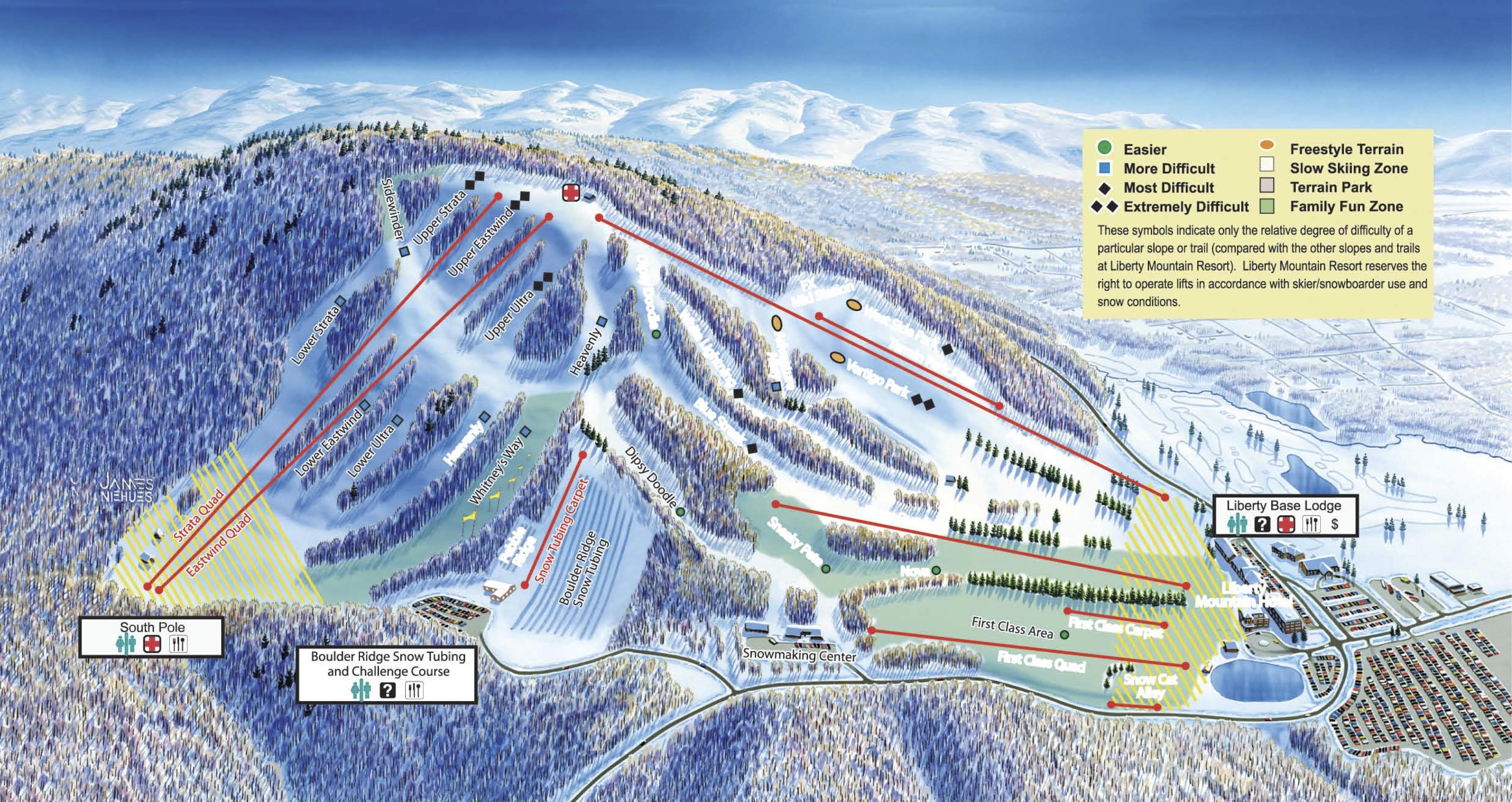 liberty trail map | onthesnow