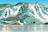 Seven Springs Plan des pistes