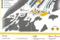 Ski Sawmill Mappa piste
