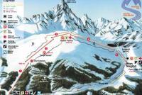 Crissolo - Monviso Ski Piste Map