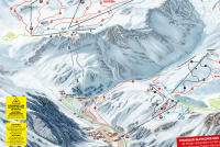 Pitztaler Glacier Trail Map