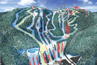 Blue Mountain Resort Plan des pistes