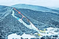 Kasina Ski Trail Map