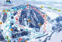 Kluszkowce - Czorsztyn ski Mapa tras