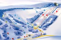 Krynica – Slotwiny Arena Trail Map
