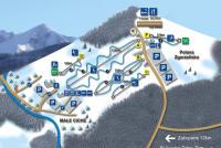 Małe Ciche Trail Map