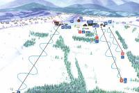 Bukowina Tatrzańska - Rusiń ski Mappa piste