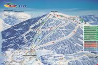 Szklarska Poręba - Ski Arena Szrenica Mapa zjazdoviek
