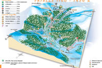 Campan Payolle Trail Map