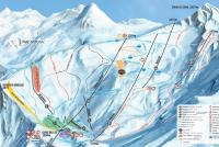 Cauterets Trail Map