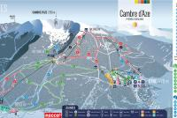 Cambre d'Aze Trail Map