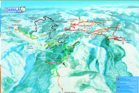 Le Chioula Trail Map
