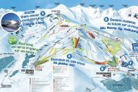 Peyragudes Trail Map