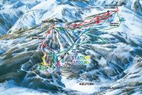 Puyvalador Plan des pistes