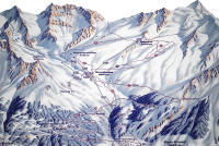 Saas-Grund Trail Map
