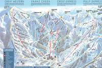 Brighton Resort Mapa de pistas