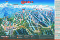 Eldora Mountain Resort Mapa tras