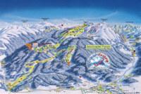 Kasberg - Grünau Mapa de pistas