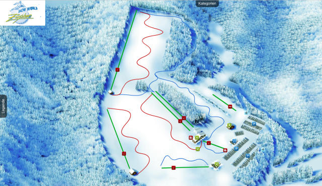 Snow World Züschen Trail Map