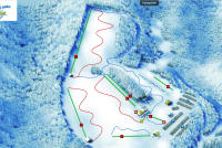 Snow World Züschen Piste Map