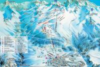 Aussois Mapa de pistas