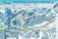 Bernex Mappa piste