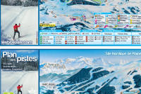 Les Brasses Piste Map