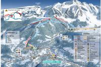 Mont Saxonnex Trail Map