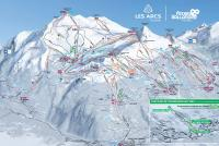 Peisey Vallandry Trail Map