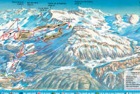 Sainte Foy Tarentaise Piste Map