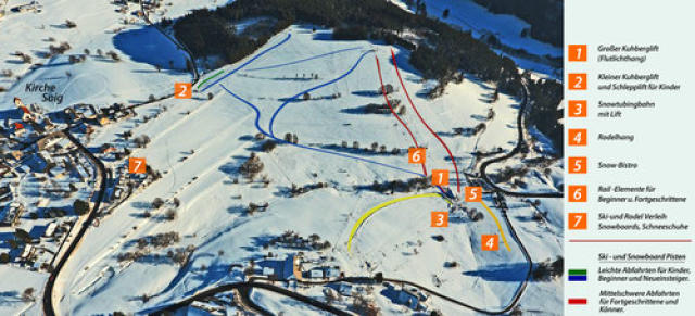 Lenzkirch Piste Map