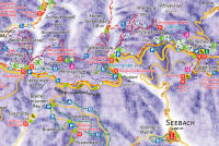 Seebach Trail Map