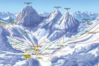 Brunni - Alpthal Trail Map