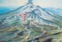 Etna Sud - Nicolosi Plan des pistes