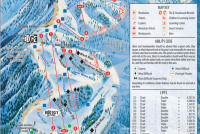 Snow Valley Piste Map
